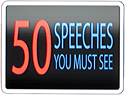 50 Speeches You Must See