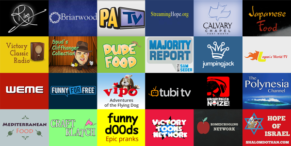 New Roku Channels - May 30, 2014
