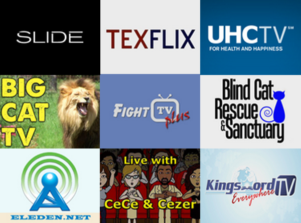 New Roku Channels - July 25, 2014