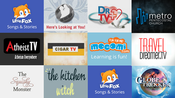 New Roku Channels - August 1, 2014