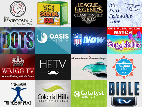 New Roku Channels - August 8, 2014