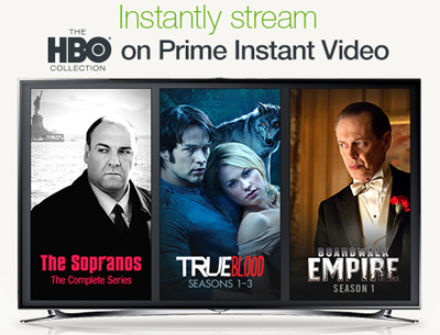 HBO on Amazon Instant Video