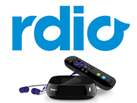 Rdio to be Integrated into the Roku Experience