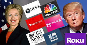 2016 Presidential Debates on Roku