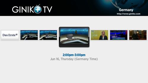 Giniko Plus TV Private Roku Channel Screenshot 3