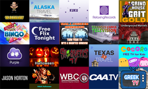 New Roku Channels - October 21, 2016