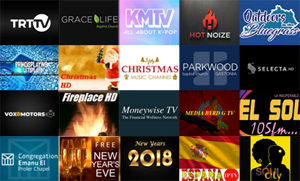 New Roku Channels - December 22, 2017