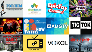 New Roku Channels - November 1, 2019