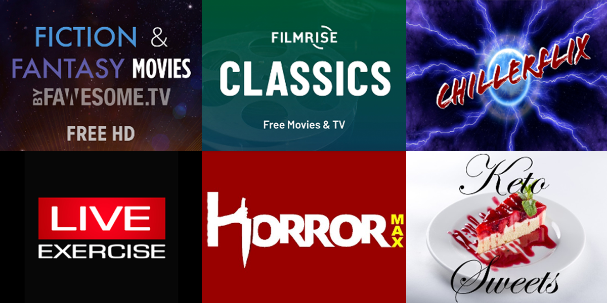 New Roku Channels - August 21, 2020