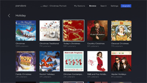 pandora you will find a lot of variety on pandora with holiday music in nearly any category you can think of to find the holiday stations select browse - Best Pandora Christmas Station