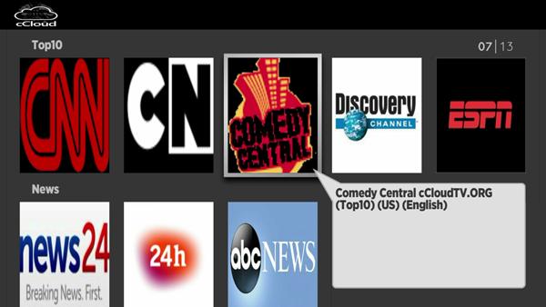 cCloud TV | Roku Guide