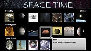 Space Time Free Roku Screenshot