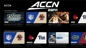 How to Watch ACC Network on Roku