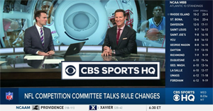 CBS SPORTS HQ now on Roku