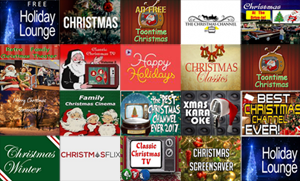Christmas Roku Channels