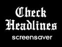 Check Headlines Screensaver  on Roku