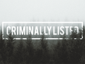 Criminally Listed