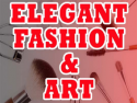 Elegant Fashion and Art