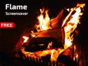 Flame Screensaver on Roku
