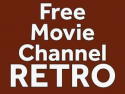 Free Movie Channel Retro on Roku