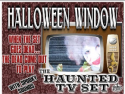 Haunted TV with Scary Sounds
