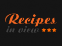 Recipes In View