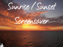 Sunrise Sunset Screensaver