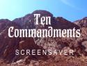 Ten Commandments Screensaver