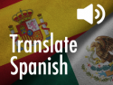 Translate Spanish