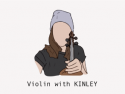 Violin with KINLEY