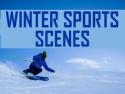 Winter Sports Scenes
