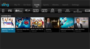 NBC On Demand on Sling TV