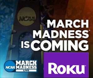 Watch NCAA March Madness 2016 games live on Roku and other streaming TV devices
