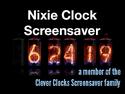 Nixie Clock Screensaver