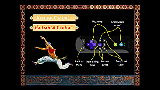 Prince of Persia Private Roku Channel Horizontal Control