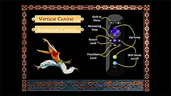 Prince of Persia Private Roku Channel Vertical Control
