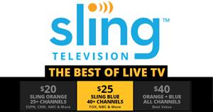 Sling TV adds multi-stream service