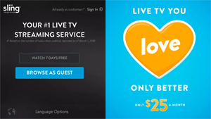 Free Sling TV on Roku