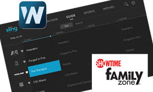 Sling TV updates user interface, adds Weather Nation and Showtime Family Zone