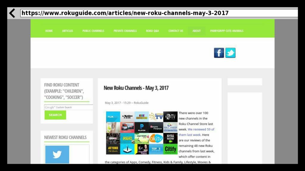 Browser X | Roku Guide