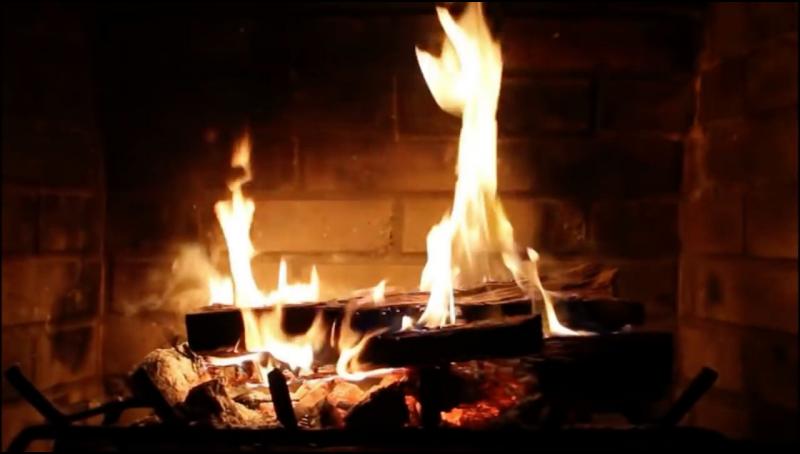Virtual Fireplace   Roku Guide