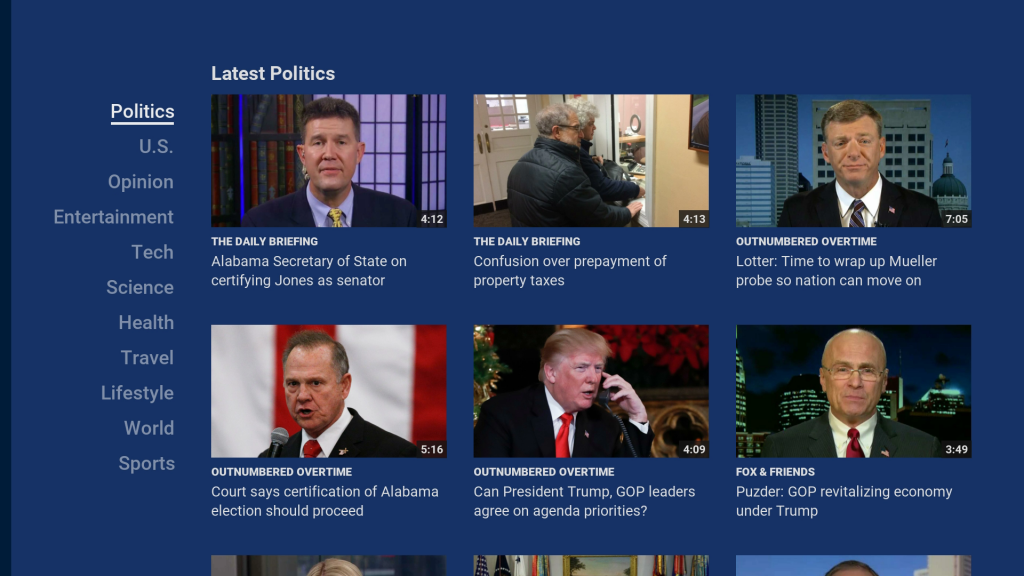 Fox News Channel Roku Guide