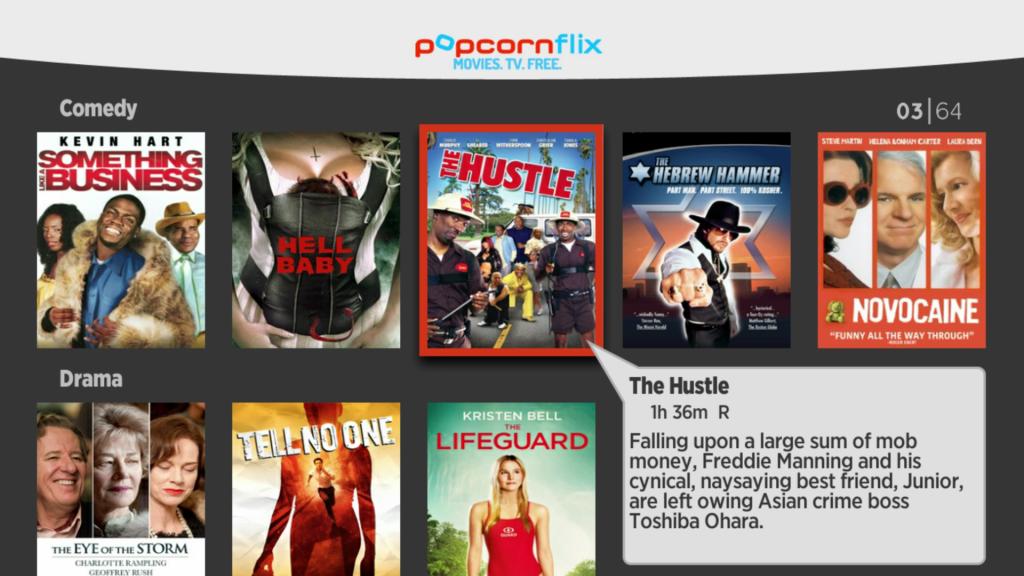 Popcornflix   Roku Guide