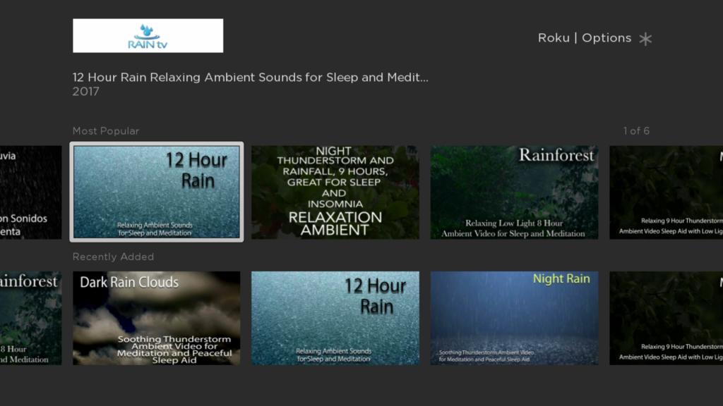 Rain TV   Roku Guide