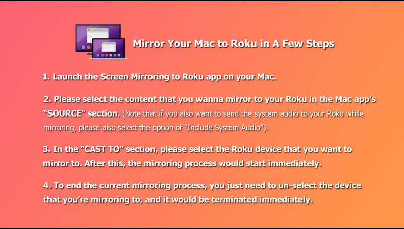 Screen Mirroring to Roku | Roku Guide