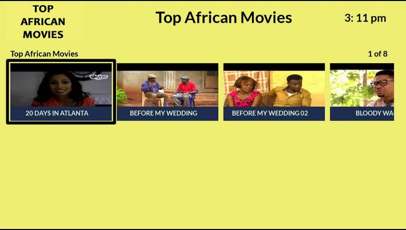Top African Movies Roku Guide