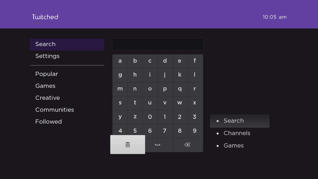 Twitched | Roku Guide