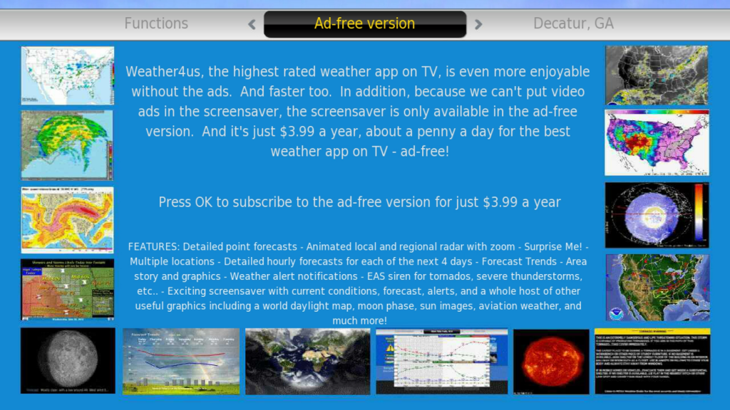 Weather4us   Roku Guide