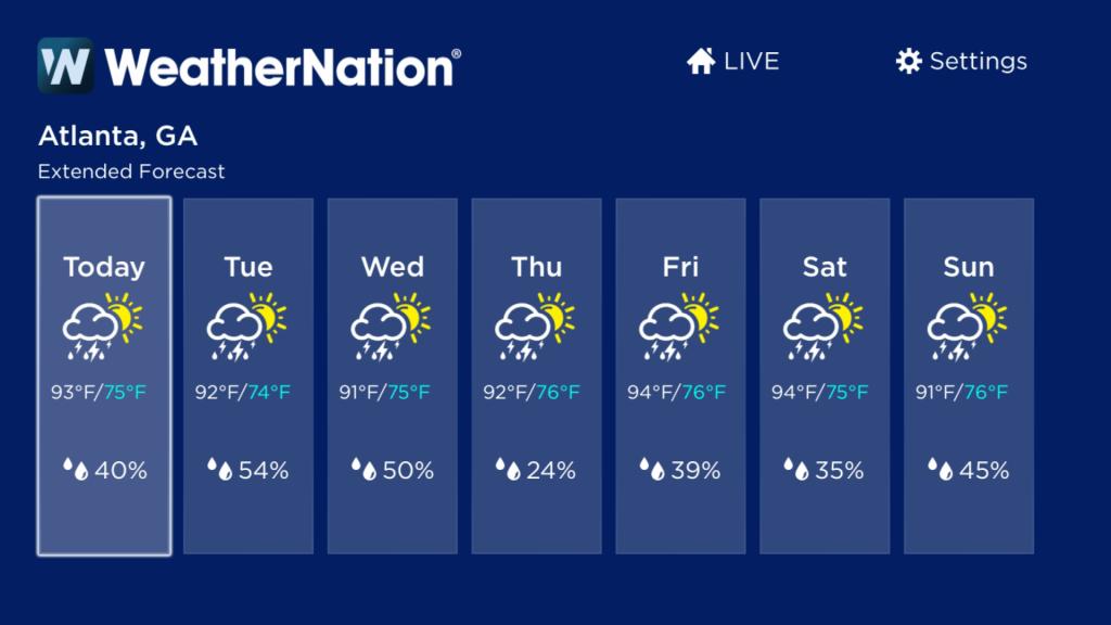 WeatherNation   Roku Guide