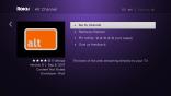 Alt Channel on Roku